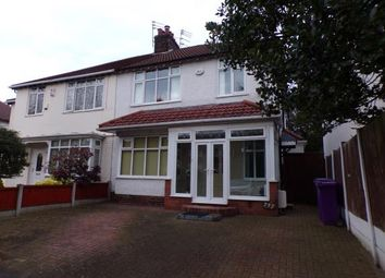 Thumbnail 4 bed semi-detached house for sale in Woolton Road, Childwall, Liverpool, Merseyside