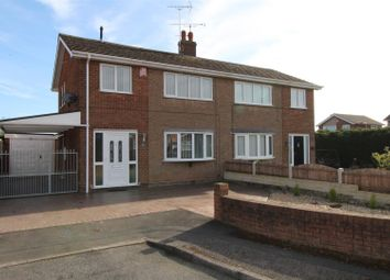 Thumbnail 3 bed semi-detached house for sale in Bean Avenue, Worksop