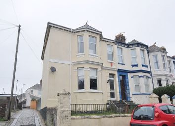 Thumbnail 3 bed end terrace house for sale in Wesley Avenue, Plymouth