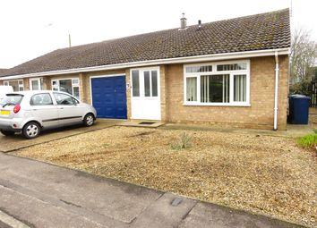 Thumbnail 2 bed semi-detached bungalow for sale in Cotswold Close, March