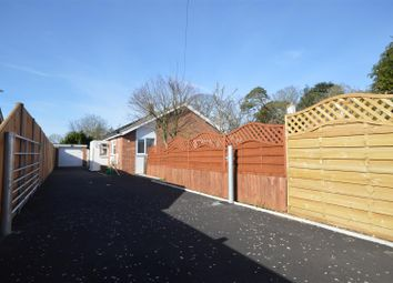 Thumbnail 3 bed detached bungalow for sale in Long Lane, Mulbarton, Norwich