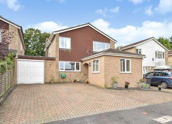 Thumbnail 4 bedroom detached house for sale in Windermere Avenue, Kempshott, Basingstoke