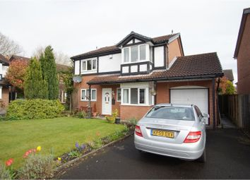 Thumbnail 4 bed detached house for sale in Penmark Close, Warrington