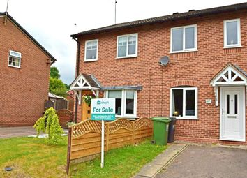 Thumbnail 2 bed terraced house for sale in Bilbury Close, Walkwood, Redditch