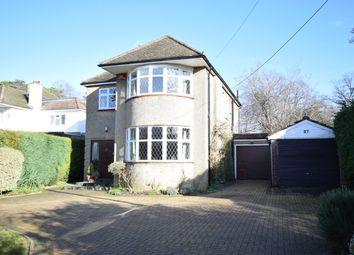 Thumbnail 4 bed detached house for sale in Coxheath Road, Church Crookham, Fleet