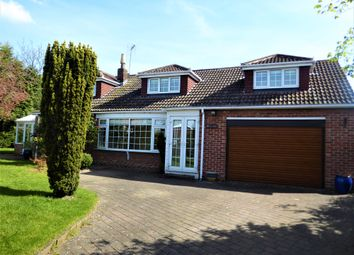 Thumbnail 4 bed detached house to rent in Front Street, Naburn, York