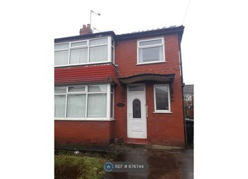 Thumbnail 3 bed semi-detached house to rent in Holyrood Road, Prestwich, Manchester