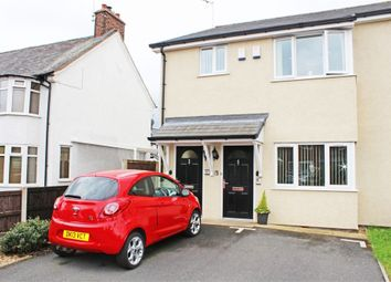 Thumbnail 2 bed flat for sale in Kenyon Avenue, Wrexham