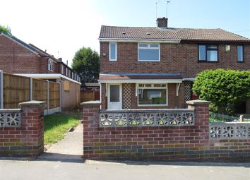 Thumbnail 2 bed semi-detached house to rent in Streatham Road, Derby