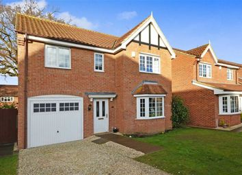 Thumbnail 4 bedroom detached house for sale in Oakfield Lane, Hemingbrough, Selby
