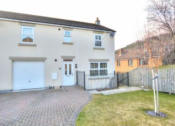 Thumbnail 4 bed semi-detached house for sale in Whitton View, Rothbury, Morpeth