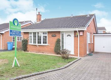 Thumbnail 2 bed bungalow for sale in Mercia Drive, Perton, Wolverhampton
