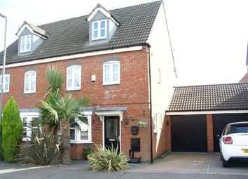 Thumbnail 4 bed town house for sale in Carnfield Close, South Normanton, Alfreton
