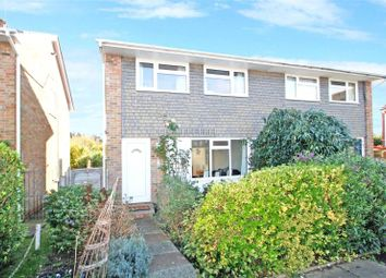 Thumbnail 3 bed semi-detached house for sale in Ryecroft Close, Goring By Sea, Worthing
