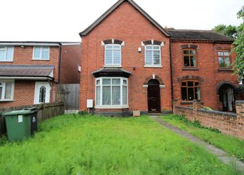 Thumbnail 4 bed semi-detached house for sale in Lichfield Road, Shelfield, Walsall