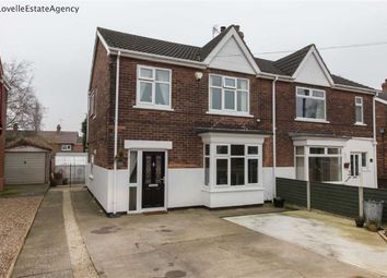 Thumbnail 3 bed property for sale in Ashby Road, Scunthorpe
