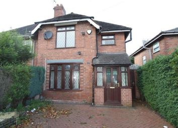 Thumbnail 2 bedroom semi-detached house to rent in Valley Road, Bloxwich