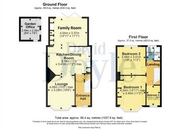 Thumbnail 3 bed terraced house for sale in Hobbs Hill Road, Hemel Hempstead