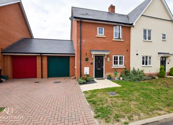 Thumbnail 2 bed semi-detached house for sale in Red Barn Close, Brightlingsea, Colchester