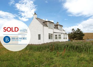 Thumbnail 3 bed detached house for sale in Clashmore, Stoer Peninsula, By Lochinver, Sutherland