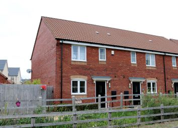 Thumbnail 3 bedroom end terrace house for sale in Wilson Gardens, West Wick, Weston-Super-Mare