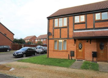 Thumbnail 3 bed semi-detached house for sale in Reedland Way, Felixstowe