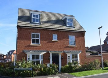 Thumbnail 4 bed detached house for sale in Old Wardour Way, Newbury