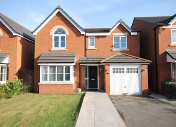 Thumbnail 4 bed detached house for sale in Shackleton Avenue, Widnes