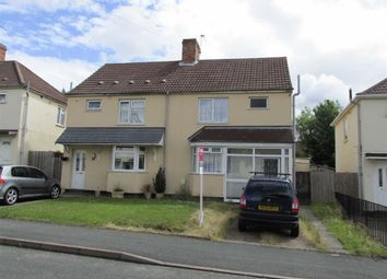 Thumbnail 3 bed semi-detached house to rent in Dickinson Avenue, Wolverhampton