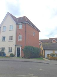 Thumbnail 4 bedroom town house to rent in Kittiwake Court, Stowmarket