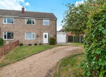 Thumbnail 3 bed semi-detached house for sale in High Road, Great Finborough, Stowmarket