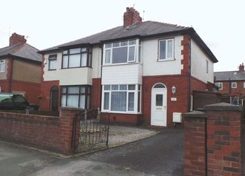 Thumbnail 3 bed semi-detached house to rent in Lytham Road, Ashton-On-Ribble, Preston