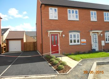 Thumbnail 3 bed end terrace house to rent in Goodwood Road, Barleythorpe/Oakham