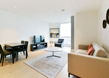 Thumbnail 1 bedroom flat for sale in Charrington Tower, 11 Biscayne Avenue, London