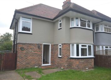 Thumbnail 3 bed semi-detached house to rent in Wokingham Road, Earley, Reading
