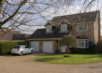 Thumbnail 4 bedroom detached house for sale in Jarrold Close, Barningham, Bury St. Edmunds