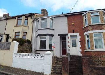 Thumbnail 3 bed terraced house for sale in Bryngwyn Road, Six Bells, Abertillery