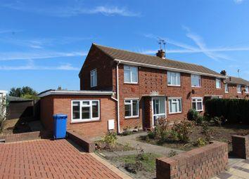 Thumbnail 3 bed end terrace house to rent in Staplehurst Road, Milton Regis, Sittingbourne