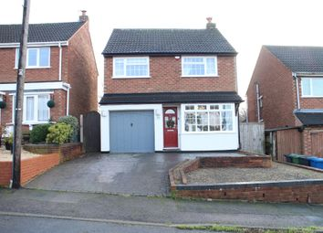 Thumbnail 3 bed detached house for sale in Sherbrooke Avenue, Wilnecote, Tamworth