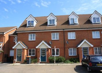 Thumbnail 3 bedroom terraced house to rent in Ellington Road, Bedford, Beds