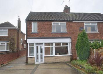Thumbnail 3 bed semi-detached house to rent in Hartshead Avenue, Scunthorpe