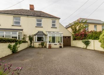 Thumbnail 3 bed semi-detached house for sale in West Hill, Wadebridge