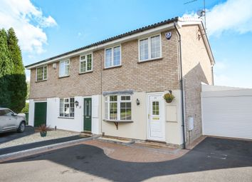 Thumbnail 2 bedroom semi-detached house for sale in Lesscroft Close, Pendeford, Wolverhampton