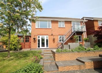Thumbnail 4 bed detached house for sale in Newby Close, Stapenhill, Burton-On-Trent