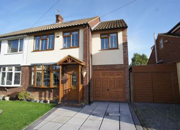 Thumbnail 4 bed semi-detached house for sale in Wheatley Road, Corringham, Stanford-Le-Hope