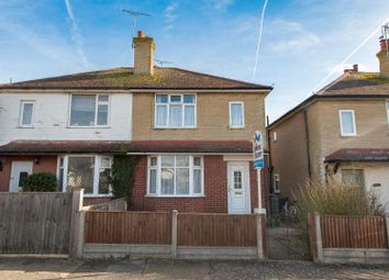 Thumbnail 2 bedroom semi-detached house for sale in Manor Road, Tankerton, Whitstable