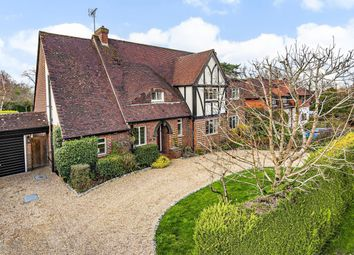 Thumbnail 5 bed detached house for sale in Manor Close, East Horsley