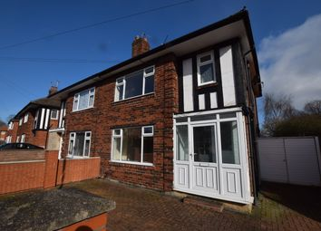 3 bed semi-detached house to rent in St. Wystans Road, Derby DE22