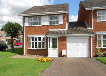 Thumbnail 3 bed detached house to rent in Edyvean Close, Bilton, Rugby, Warwickshire
