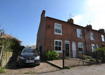 Thumbnail 3 bed end terrace house for sale in Wood Lane, Quorn, Leicestershire